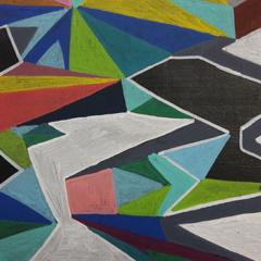 Schilderij Urban art