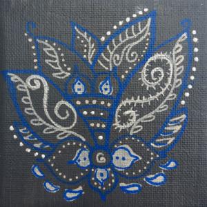 Schilderij Mini  lotus