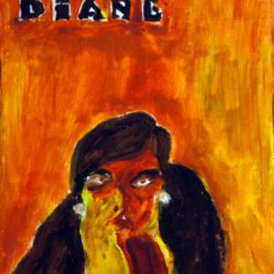 Schilderij Diane