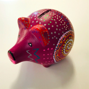 spaarpot roze varken