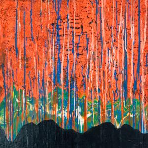 """Schilderij """"Dizzling mind"""""""