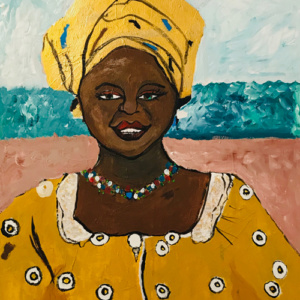 "Schilderij ""Mama Afrika"""