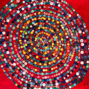 Schilderij De kleurrijke wereld