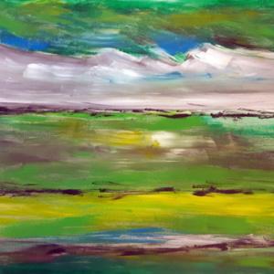 "Schilderij ""Groene Zee"""