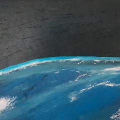Schilderij From high above