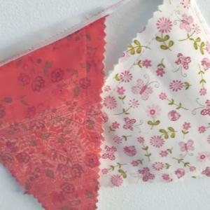 Slinger middel roze bloemetjes
