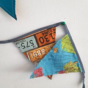 Slinger middel wereldkaart