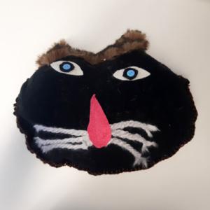Knuffel Kattenkop