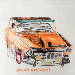 Schilderij Volvo Amazone