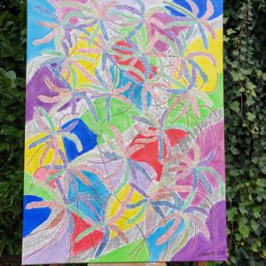 Schilderij 'Blind'