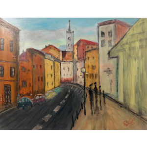 Schilderij Granada