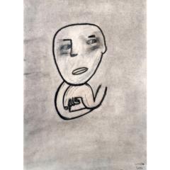 """Schilderij """"Two faces"""""""