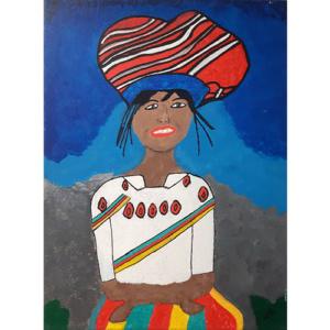 Schilderij 'Mevrouw Zen'